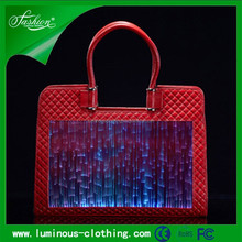 luminous glow in the dark 2015 trendy fashion lady bags