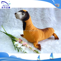 Can be customized gift 100% pp stuffing simulation dolls sea lion stuffed animal zoo animals plush stuffed toys