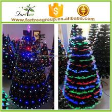china artifical green led xmas tree