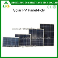 250W Poly crystalline high efficiency A grade solar cell panel