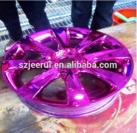 Car Paint,Furniture Paint,Plastic Coating Usage and Liquid Coating State chrome paint for car,400ml/1L/4L silver gold purple red