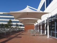 4M outdoor cantilever beach umbrella