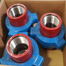 High pressure pipe fittings stainless steel fmc weco figure 200 fig206 fig400 hammer union for oil drilling