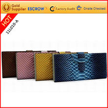Perfect leather cowhide clutch bags lady