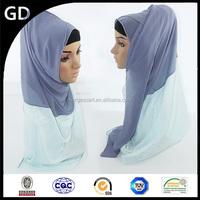 GDHH0068 Fashionalbe cheap scarf muslim women wedding dress with lace hijab arab sex