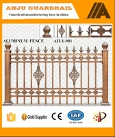 AJLY-901Alibaba China Aluminium fence panels for garden fencing,prefab homes fencing