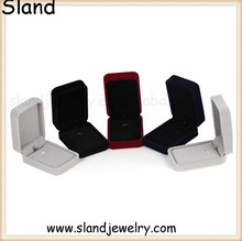 custom made velvet antique style ring box, rotating ring rectangle shape, many colors for your choice