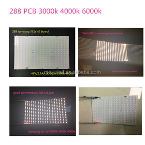 Meijiu alta eficiencia populares DIY kits crece la luz mazorca lm561c S6 Quantum PCB 288 leds