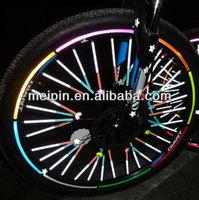 Reflective Bicycle/Motorcycle Wheel Sticker 8pcs per set