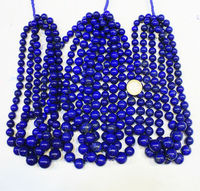 Blue Lapis A+ grade Huge Smooth Round Ball Beads
