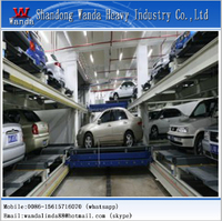 Automatic car stack shuttle parking system