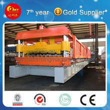 Fully automatic roofing sheet roll forming machine, Big corrugated making machine