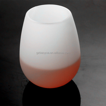 Hot Selling Soft Silicone Material Red Wine Glass/Goblet/Wine Glass Cup