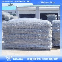 Stone Exterior Wall C Rings For Gabion Wire Mesh Basket