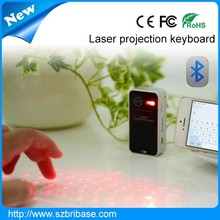 Infrared Keyboard High quality Bluetooth laser virtual keyboard Air Mouse