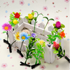 funny artificial flowers kid hair accessory, plant hairpin for girl