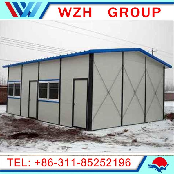 China Supplier For Prefab Modern Steel House Prefab