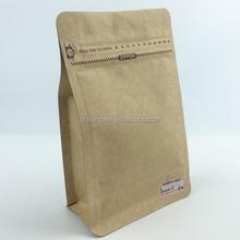 Kraft Paper Flat Bottom Bags