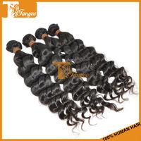 Adjustable Hairpiece Natural Invisible Glueless Human Hair 3pcs/Set Loose Curly/ Deep Wave Peruvian Virgin Hair Extension