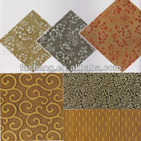 Embossed 3d MDF decorative wall covering panels