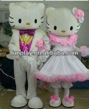 Hi miglior prezzo divertente carnevale coppia costume, adulti costume, umani costume mascotte