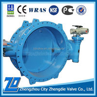 China factory price DN900 PN40 series 13 buttterfly valve