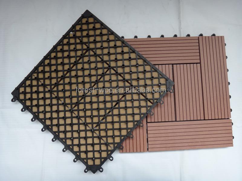 Frstech plastique terrasse ext rieure rev tement for Plancher exterieur plastique