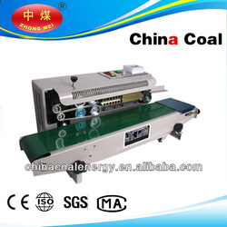 steel/ink print Continuous heating band/bag sealing machine