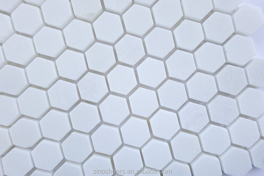 White Hexagon Tile Buy Hexagon Mosaic Tile Hexagonal Mirror Tiles