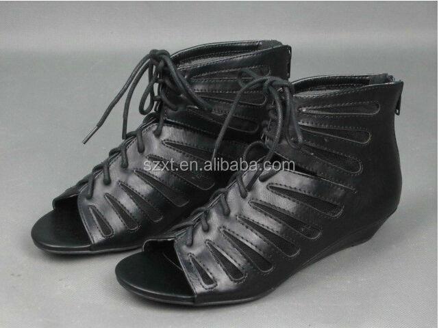 Schuhe Mit Keilabsatz Zum Schnüren Schuhe Mit Keilabsatz