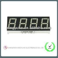 7 segment led display 4 digit for ethernet digital power meter