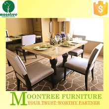 Moontree MDT-1113 furniture supplier dining table designs with four chairs