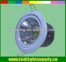 COB led downlights vs halogen