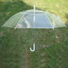 Cheap Promotional Clear Plastic Umbrella