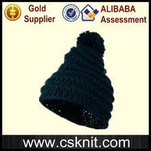 China supplier plain men woolen knitted caps / crochet hats for infants and toddler