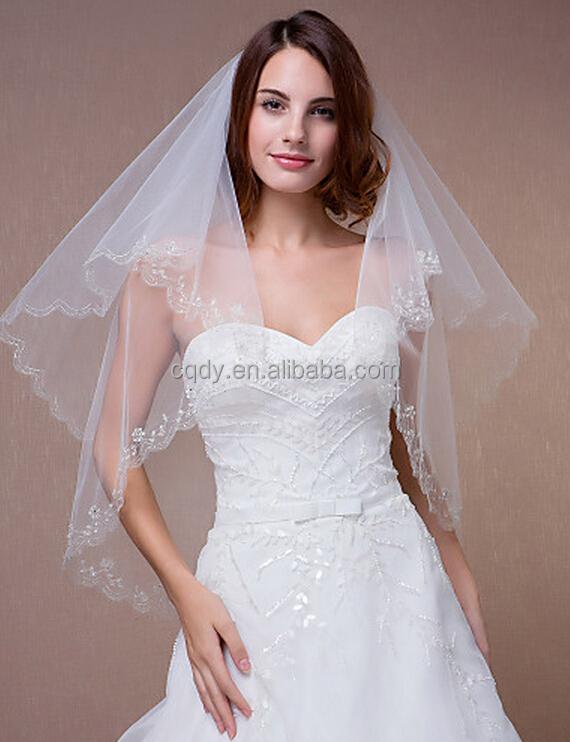 Timeless And Modern Wedding Cathedral Veils Wedding Dress Bridal ...