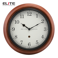 hanging home decoration craft wood wall clock