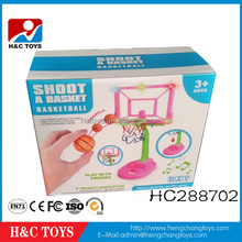 Plastic flash music basketball board kids mini plastic basketball hoop HC288702