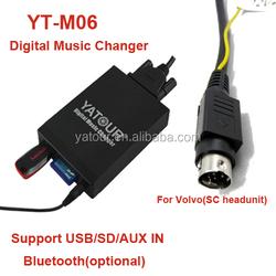 Yatour mp3 aux digital cd changer volvo