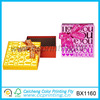 Small glossy cube shape decorative chocolate boxes