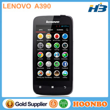 "Low Cost Mobile Phone Lenovo A390 Mobile Phone Prices 4"" MTK6577 Dual Core Android 4.0 800X480p 4GB ROM 512MB RAM 5.0MP Camera"