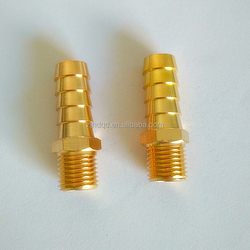 male threaded connection with sleeve for rubber hose connector , high performance forged brass connector