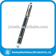 fashion design 3 in 1 metal laser pointer touch pen