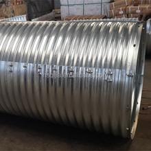 galvanized corrugated steel pipe for the road culvert, stromwater,small bridge