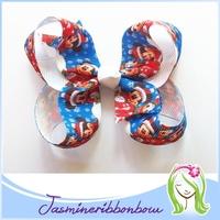 Boutique hair bow,toddler hair accessory,ribbon hair infant clip for girl hair