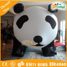 high quality human sized big balloon/giant advertising balloons/panda balloon