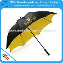 El paraguas de venta exclusivos de golf de publicidad en 2014