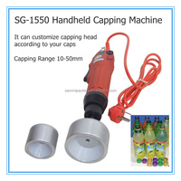 Handheld electric capping Machine SG-1550,bottle cap machine