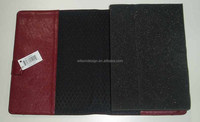 cheap embossed leather cheqe book covers