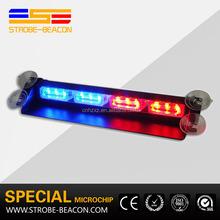 hot sale high quality 8 leds windshields dash emergency strobe flash light